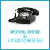 School Codes & Phone Numbers